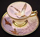 Stunning Scenic Lamm Dresden Demitasse Cup and Saucer