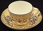 Exquisite Antique English Tea Cup and Saucer