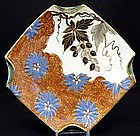 Handsome 19th C. French Faience Dish