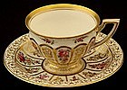 Adorable Lamm Dresden Demitasse Cup and Saucer