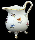 Adorable Meissen Cream Pitcher with Feet