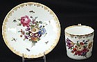 Charming Lamm Dresden Demitasse Cup and Saucer