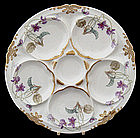 Art Nouveau Theodore Haviland Limoges Oyster Plate