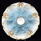 Beautiful L S & S Limoges Oyster Plate
