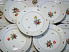 12 Charming Nymphenburg Dinner Plates