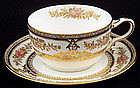 Elegant Wedgwood China Tea Cup & Saucer
