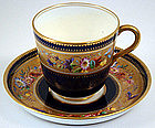 Elegant Antique English Tea Cup & Saucer