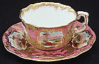 Charming Hammersley Four O'Clock Tea Cup and Saucer