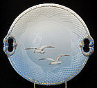 Bing & Grondahl Dolphin Handle Serving Dish, Seagulls