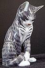 Delightful Royal Copenhagen Tabby Cat