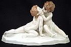 Antique Rosenthal Cherub Figurine