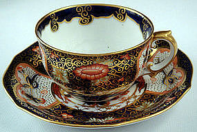 Royal Crown Derby Imari Tea Cup & Saucer