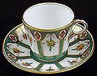 Antique English Tea Cup & Saucer