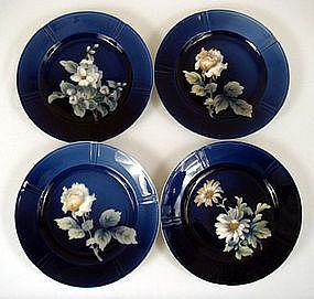 Stunning Bing & Grondahl Hand Painted Plates