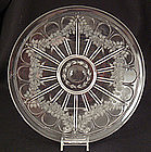 Beautiful Engraved American Crystal Plate
