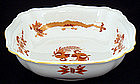 Meissen Red Dragon Bowl