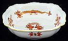 Meissen Red Dragon Bowl