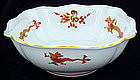 Meissen Red Dragon Bowl Large