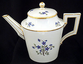 Elegant Antique KPM Berlin Tea Pot