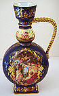 Fabulous Antique Royal Vienna Ewer/Vase