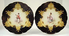 Pr. Victorian Limoges Plates