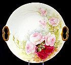 Sweet Little Limoges Rose Dish