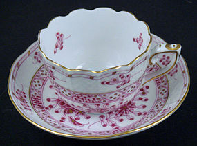Sweet Herend Demitasse Cup & Saucer