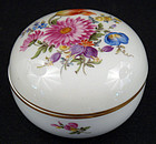 Vintage Meissen Covered Box