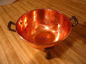 Copper Colander  unavailable