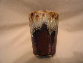 Canonsburg Brown Drip Tumbler