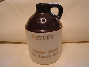 Cracker Barrel Pepper Shaker