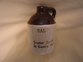 Paden City Cracker Barrel Salt Shaker