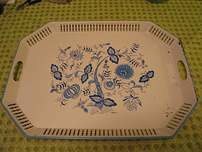 Blue Onion Tray