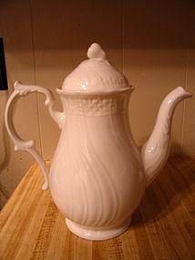 Mikasa Renaissance White Coffee Pot