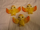 Wall Hanging Yellow Birds
