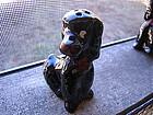 Vintage Black Poodle Pepper Shaker