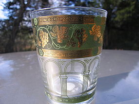 Cera Golden Grapes Glass