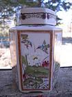 Porcelain Hummingbird Jar