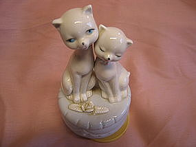 White Cats Music Box