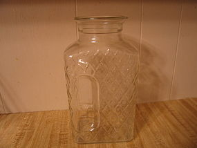 Glass Refrigerator Jar
