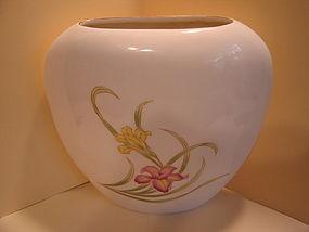 Vintage Iris  Vase
