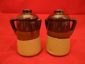 Coffee Pot Salt & Pepper Shakers