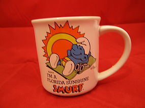 Smurf Travels America Mug