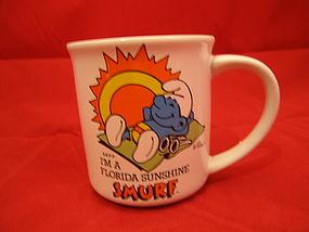 Smurf Travels America Mug