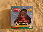 Barney Radio Flyer Christmas Ornament