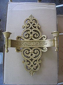 Gilt Wall Sconce