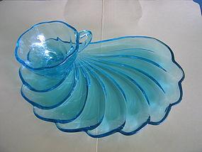 Hazel Atlas Capri Seashell Cup