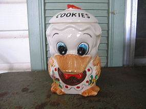 Duck Cookie Jar