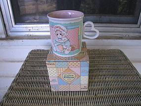 Enesco Calico Kittens Mug