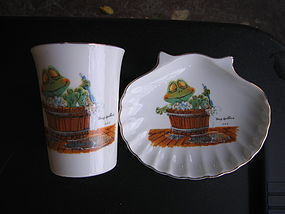 Suzy's Zoo Cup and Soap Dish